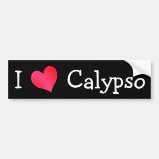 Amo el Calypso Pegatina Para Auto