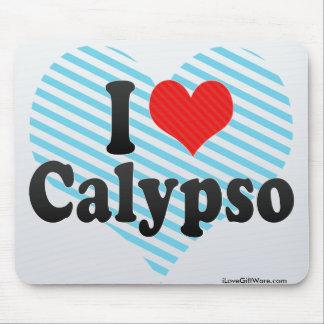 Amo el Calypso Tapete De Ratón