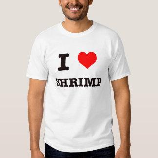 Amo el camarón camisas