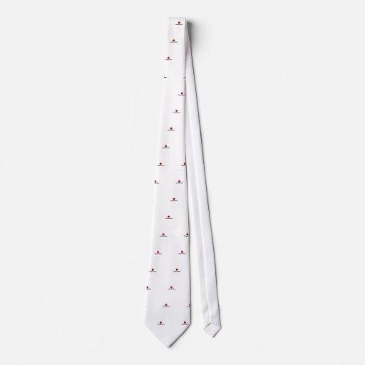 Amo el cambiar de los pañales corbata personalizada
