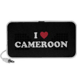 Amo el Camerún Altavoz De Viaje