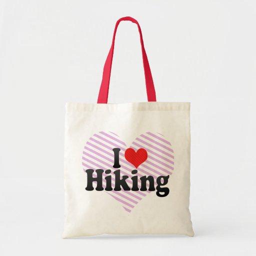Amo el caminar bolsas