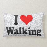 Amo el caminar cojin