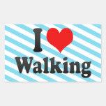 Amo el caminar rectangular altavoces