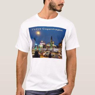 Amo el camisetas para hombre de Copenhague