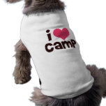 Amo el campo camisetas de perrito