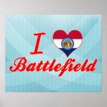 Amo el campo de batalla, Missouri Posters