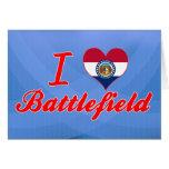 Amo el campo de batalla, Missouri Tarjeta