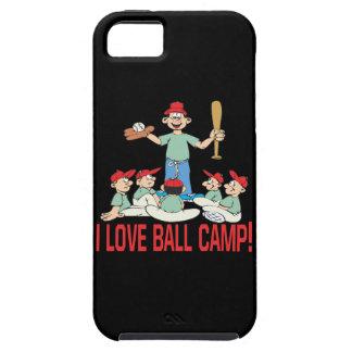 Amo el campo de la bola iPhone 5 carcasa