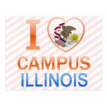 Amo el campus, IL Tarjetas Postales