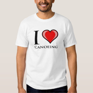 Amo el Canoeing Playera