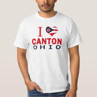 Amo el cantón, Ohio Camisas