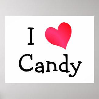 Amo el caramelo poster