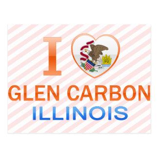 Amo el carbono de la cañada, IL Tarjeta Postal