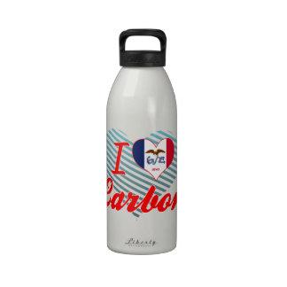 Amo el carbono, Iowa Botellas De Beber