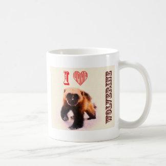 amo el carcayú del bebé taza de café
