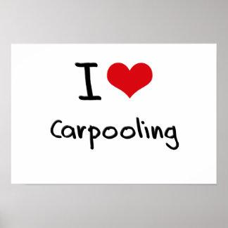 Amo el Carpooling Posters