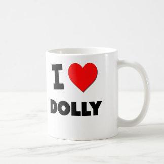 Amo el carro tazas de café