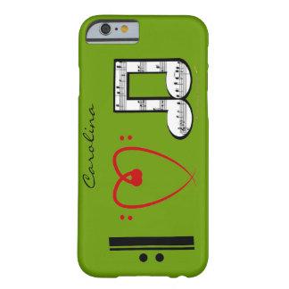 Amo el caso conocido de encargo del iPhone 6 de Funda De iPhone 6 Barely There