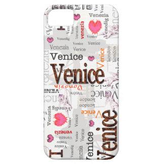 Amo el caso de Venecia Iphone Funda Para iPhone 5 Barely There