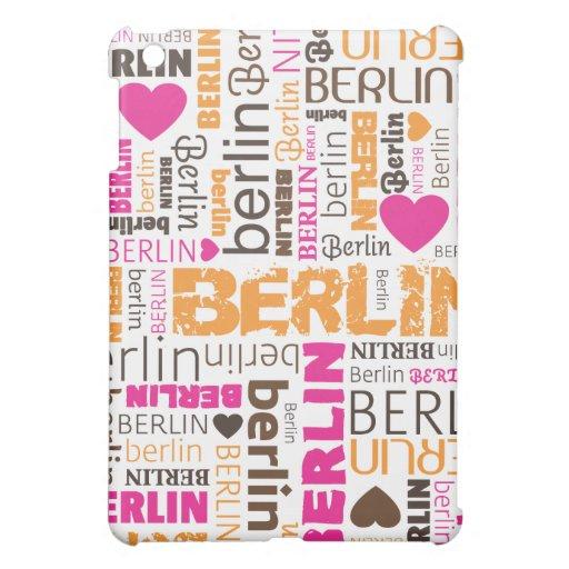 amo el caso del ipad de la tipografía de Berlín