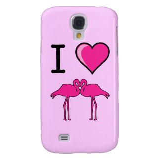 Amo el caso del iPhone 3 de los flamencos
