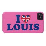 Amo el caso del iPhone 4/4S de la casamata de Loui iPhone 4 Carcasas