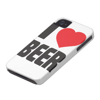 Amo el caso del iPhone 4 de la cerveza iPhone 4 Funda