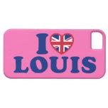 Amo el caso del iPhone 5 de la casamata de Louis iPhone 5 Case-Mate Fundas