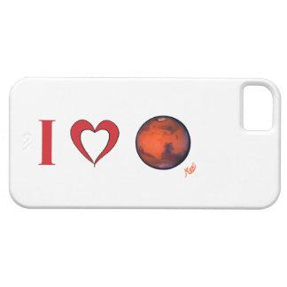 Amo el caso del iPhone 5 de Marte iPhone 5 Case-Mate Fundas