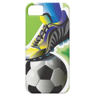 Amo el caso del iPhone 5 del fútbol iPhone 5 Funda