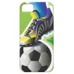 Amo el caso del iPhone 5 del fútbol iPhone 5 Carcasa