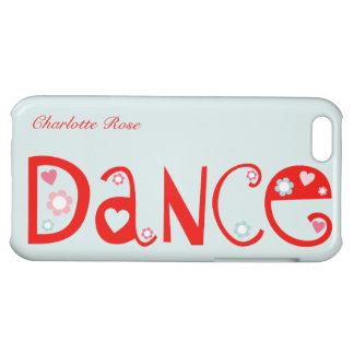 Amo el caso del iPhone 5C de la danza