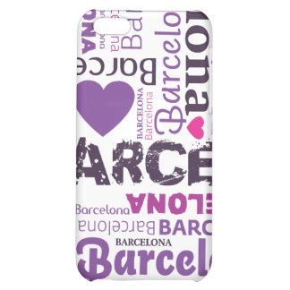 amo el caso del iphone de la tipografía de Barcelo