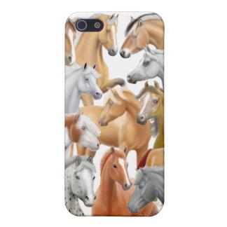 Amo el caso del iPhone de los caballos iPhone 5 Cobertura