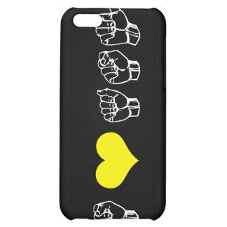 Amo el caso del iPhone del ASL (lenguaje de signos