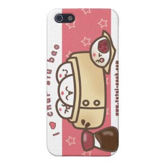 amo el caso del iphone del bao del siu del carbón  iPhone 5 protector