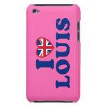 Amo el caso del tacto de Louis iPod (4ta generació iPod Case-Mate Carcasa