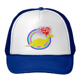 Amo el casquillo amarillo del sombrero del Diplodo Gorros Bordados