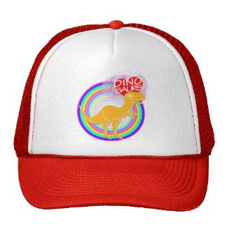 Amo el casquillo anaranjado del sombrero de Dino T Gorra