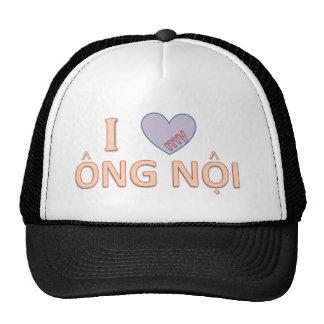 Amo el casquillo del abuelo (en vietnamita) gorras de camionero