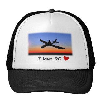 Amo el casquillo del vuelo de RC Gorras De Camionero