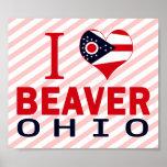 Amo el castor, Ohio Poster