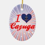 Amo el Cayuga, Dakota del Norte Adorno De Reyes