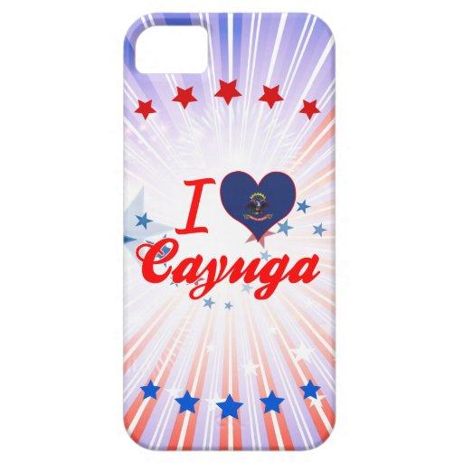 Amo el Cayuga, Dakota del Norte iPhone 5 Cobertura