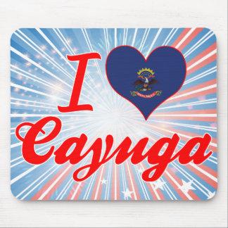 Amo el Cayuga, Dakota del Norte Tapete De Ratones