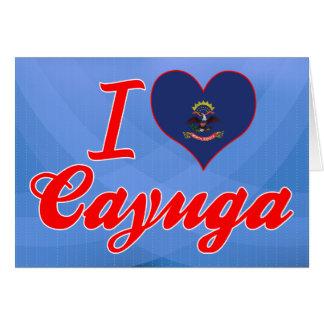 Amo el Cayuga, Dakota del Norte Felicitaciones