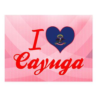 Amo el Cayuga, Dakota del Norte Postales