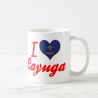 Amo el Cayuga, Dakota del Norte Taza De Café