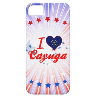 Amo el Cayuga Indiana iPhone 5 Cárcasas